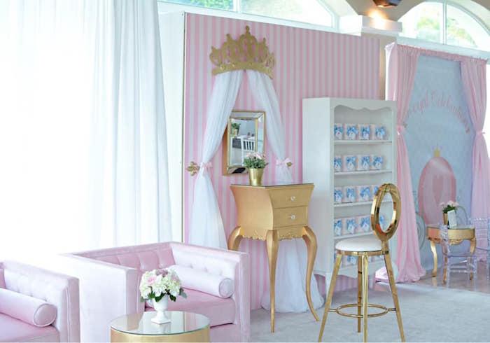Princess Dress-Up Birthday Party on Kara's Party Ideas | KarasPartyIdeas.com (10)