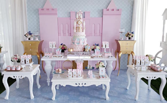 Princess Dress-Up Birthday Party on Kara's Party Ideas | KarasPartyIdeas.com (6)