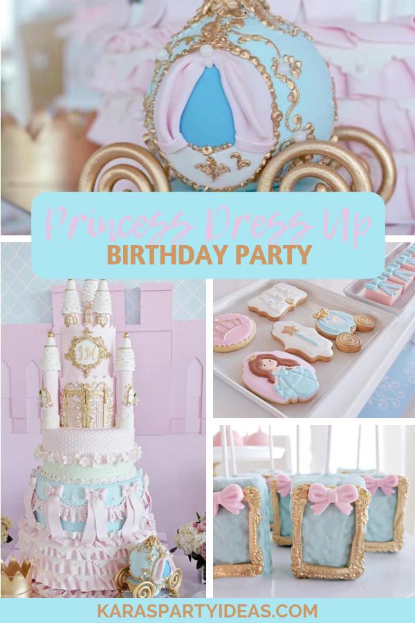 Princess Dress Up Birthday Party via Kara's Party Ideas - KarasPartyIdeas.com