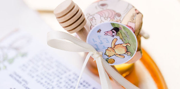 Rustic Chic Classic Winnie the Pooh Party on Kara's Party Ideas | KarasPartyIdeas.com (1)