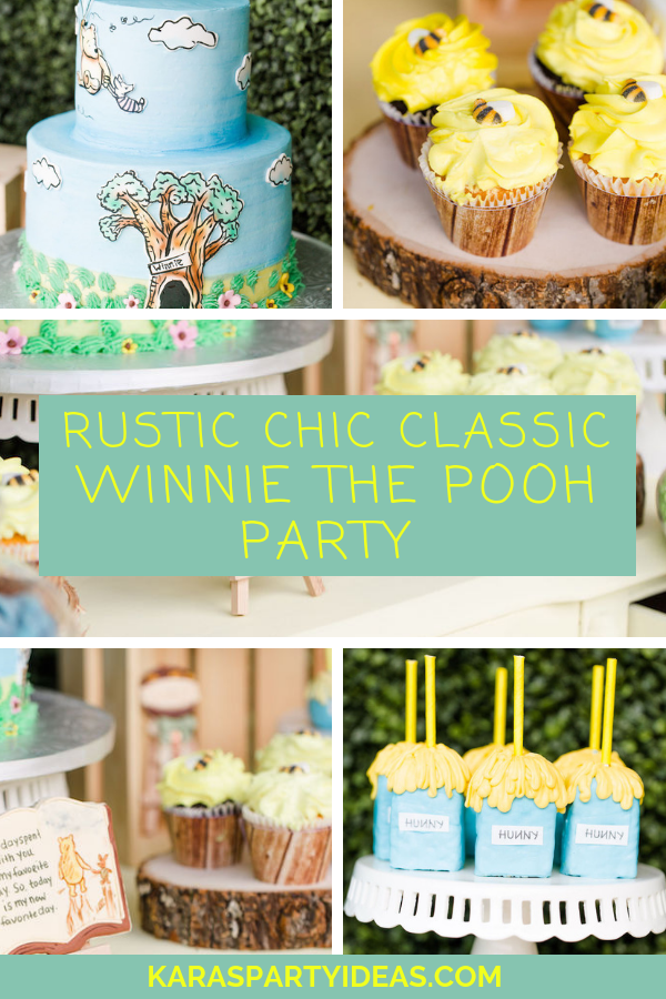Rustic Chic Classic Winnie the Pooh Party via Kara's Party Ideas - KarasPartyIdeas.com.png