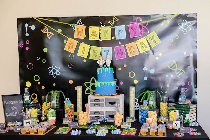 Super Science Party for Twins on Kara's Party Ideas | KarasPartyIdeas.com (25)