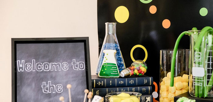Super Science Party for Twins on Kara's Party Ideas | KarasPartyIdeas.com (3)