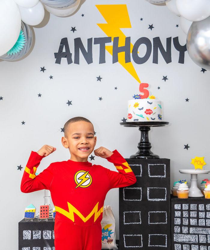 Superhero Birthday Party on Kara's Party Ideas | KarasPartyIdeas.com (13)