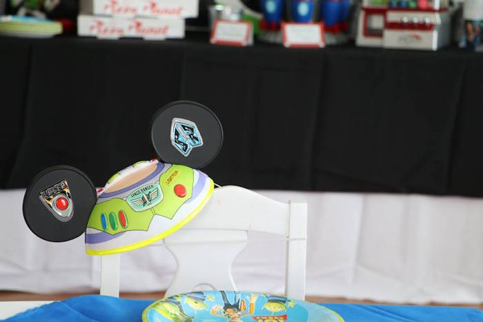 Buzz Lightyear Ears from a Toy Story Birthday Party on Kara's Party Ideas | KarasPartyIdeas.com (33)