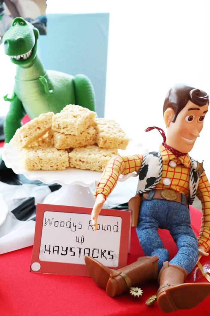 Woody's Round Up Haystacks from a Toy Story Birthday Party on Kara's Party Ideas | KarasPartyIdeas.com (5)