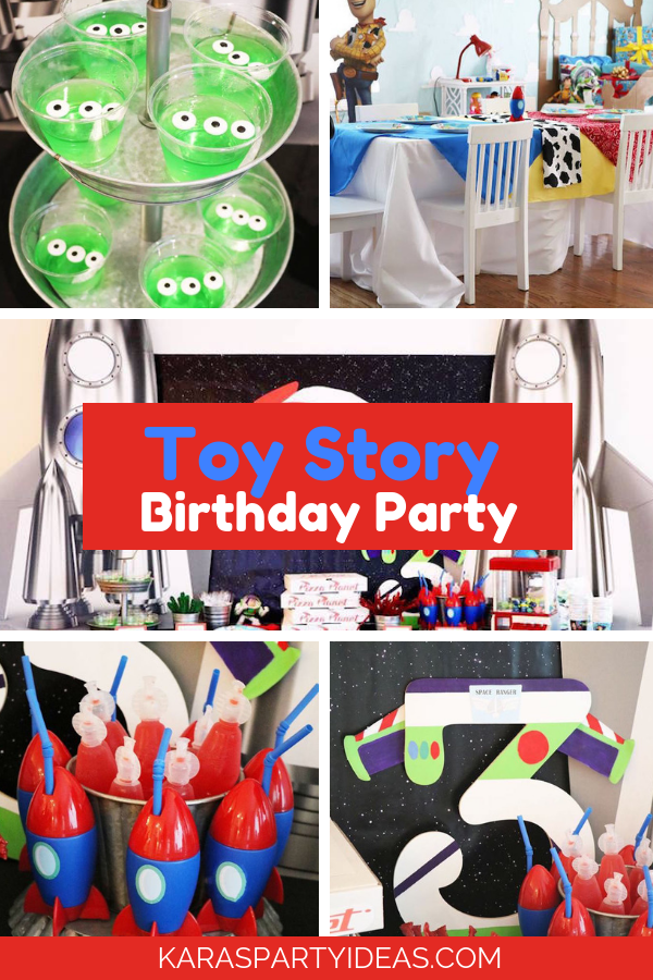 Toy Story Birthday Party via Kara's Party Ideas - KarasPartyIdeas.com