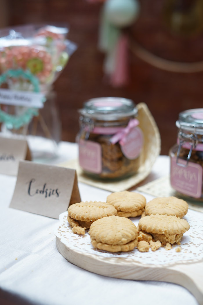 Cookies from a Young, Wild and Three Birthday Party on Kara's Party Ideas | KarasPartyIdeas.com (14)