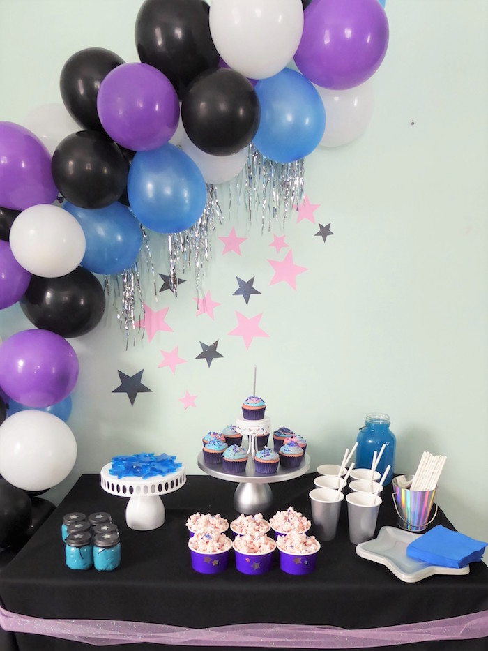 Twinkling Star Galaxy Party on Kara's Party Ideas | KarasPartyIdeas.com