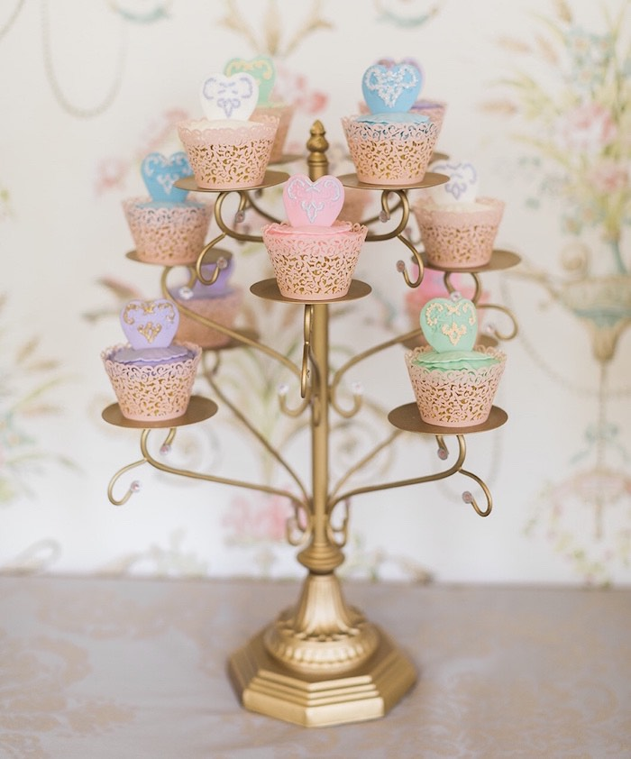 Ballerina Cupcakes from a Ballerina Ball Birthday Party on Kara's Party Ideas | KarasPartyIdeas.com (23)
