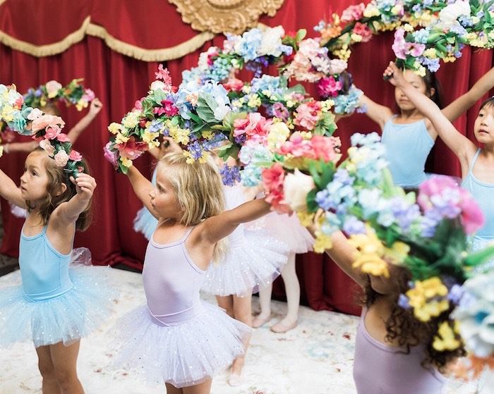 Dancing Ballerinas from a Ballerina Ball Birthday Party on Kara's Party Ideas | KarasPartyIdeas.com (15)