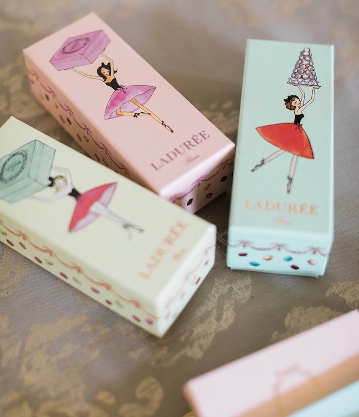 Laduree Favors from a Ballerina Ball Birthday Party on Kara's Party Ideas | KarasPartyIdeas.com (6)