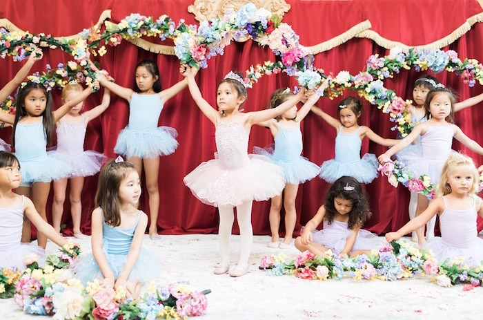 Ballerina Ball Birthday Party on Kara's Party Ideas | KarasPartyIdeas.com (31)