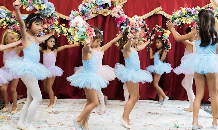Little Ballerinas from a Ballerina Ball Birthday Party on Kara's Party Ideas | KarasPartyIdeas.com (28)