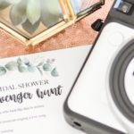 Bridal Shower or Bachelorette Party Scavenger Hunt Game by Kara's Party Ideas for Fujifilm Instax-35