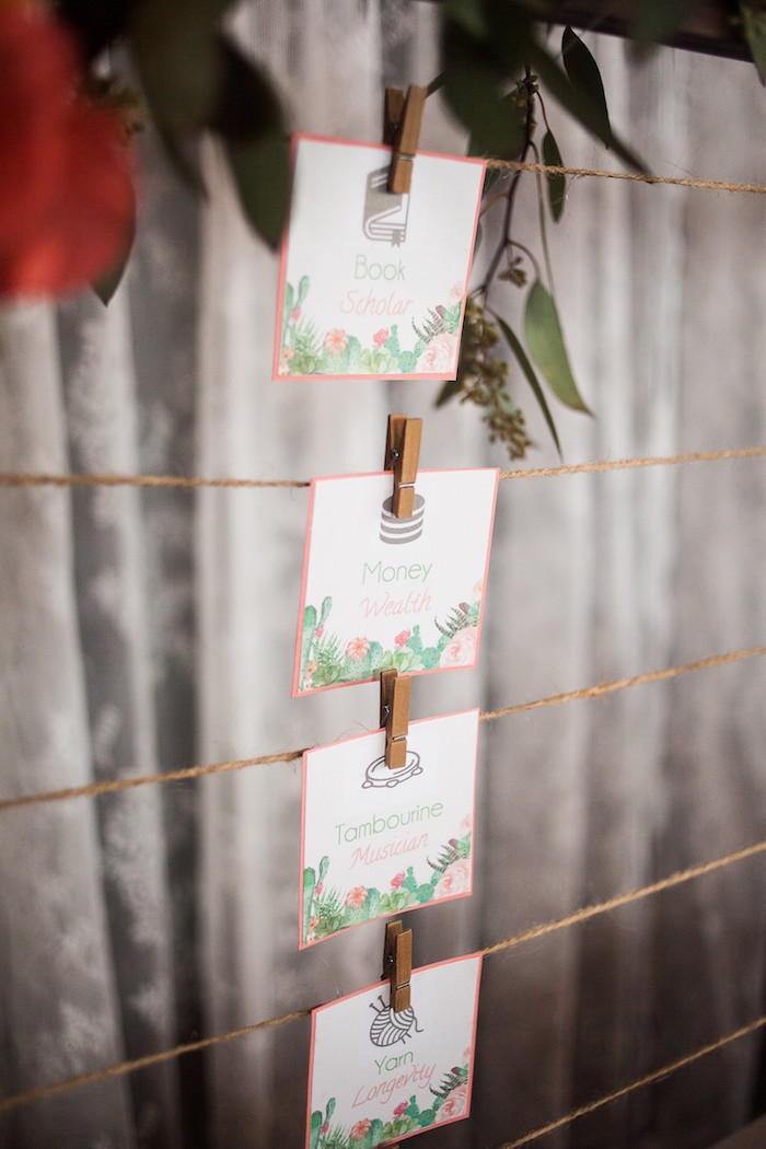 Cactus Themed Dol Labels from a Cactus Themed Dol 1st Birthday Party on Kara's Party Ideas | KarasPartyIdeas.com (18)
