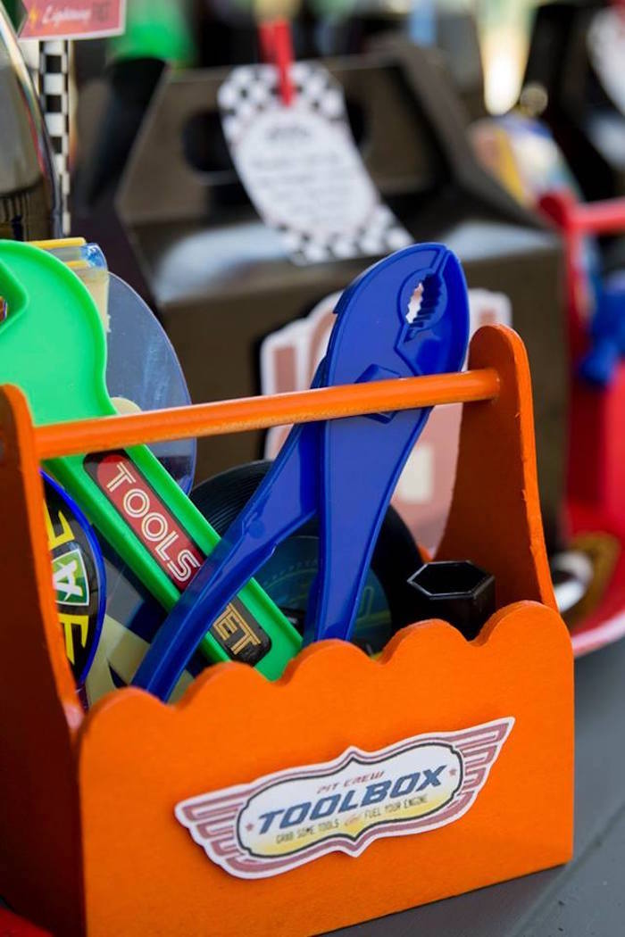 Tool Box Favor Set from a Cars Birthday Party on Kara's Party Ideas | KarasPartyIdeas.com (31)