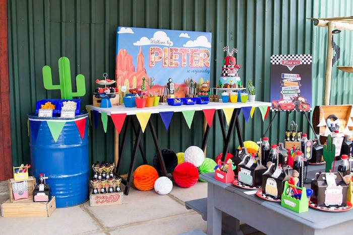 Cars Birthday Party on Kara's Party Ideas | KarasPartyIdeas.com (26)
