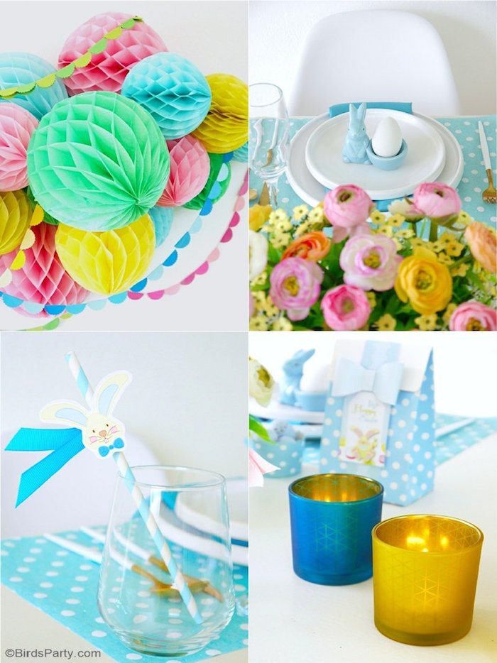 Easter Party Ideas + Brunch Party Details from a Colorful Spring Easter Brunch on Kara's Party Ideas | KarasPartyIdeas.com (19)
