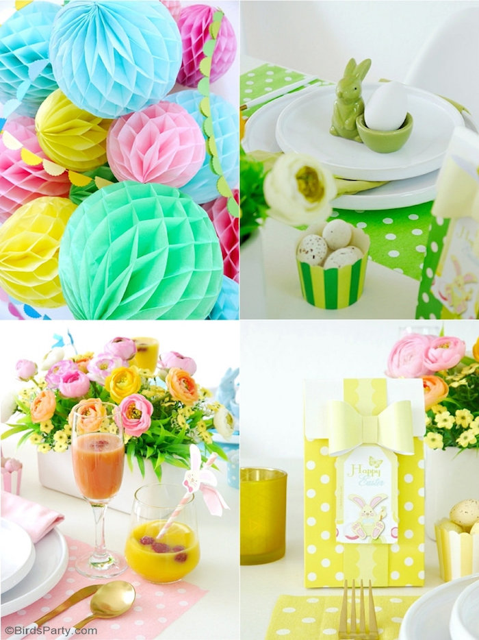 Easter Brunch Party Details + Ideas from a Colorful Spring Easter Brunch on Kara's Party Ideas | KarasPartyIdeas.com (17)