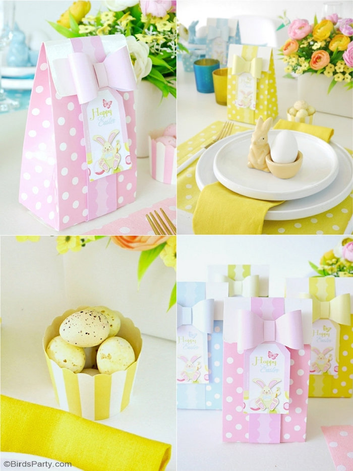 Easter Brunch Party Details + Ideas from a Colorful Spring Easter Brunch on Kara's Party Ideas | KarasPartyIdeas.com (16)