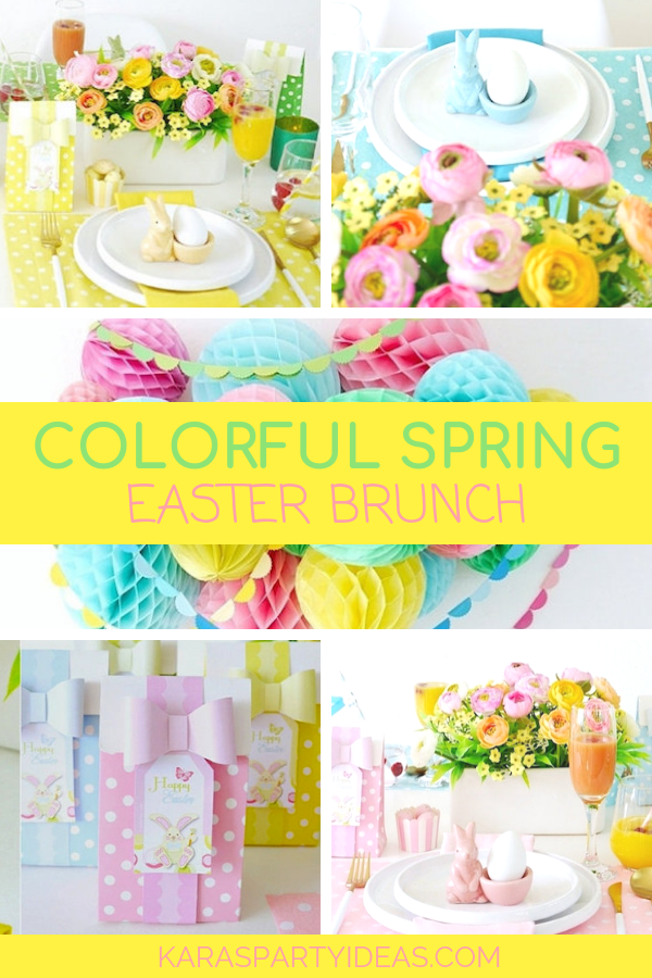 Kara S Party Ideas Colorful Spring Easter Brunch Kara S Party Ideas