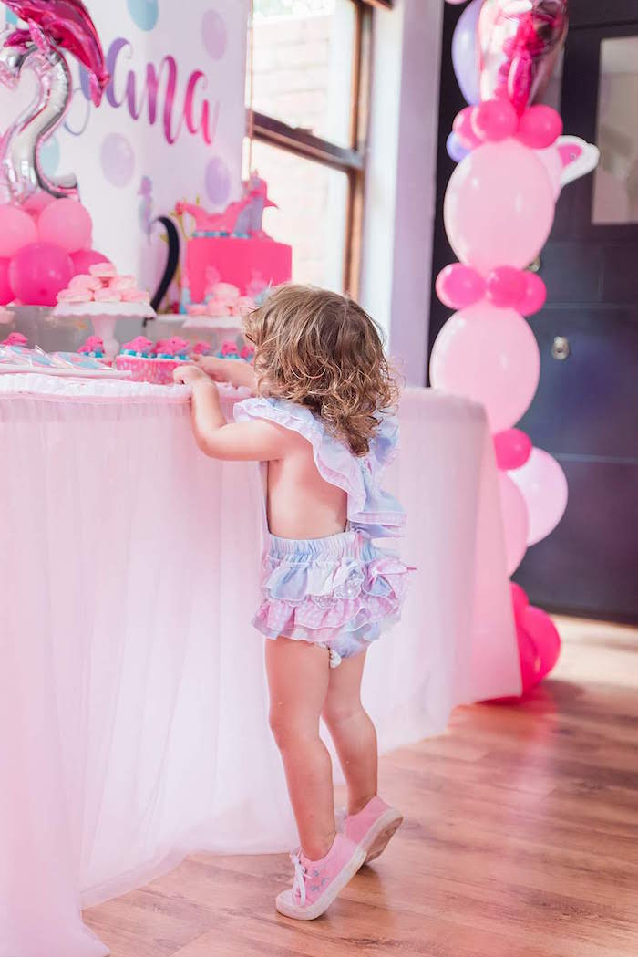 Sweet Table from a Dolphin Birthday Party on Kara's Party Ideas | KarasPartyIdeas.com (9)