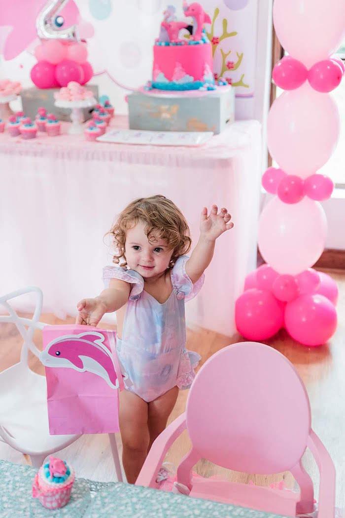 Dolphin Birthday Party on Kara's Party Ideas   KarasPartyIdeas.com (8)