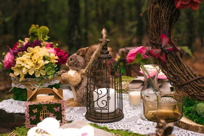 Woodland Decor from a Dreamy Enchanted Woodland Party on Kara's Party Ideas | KarasPartyIdeas.com (17)