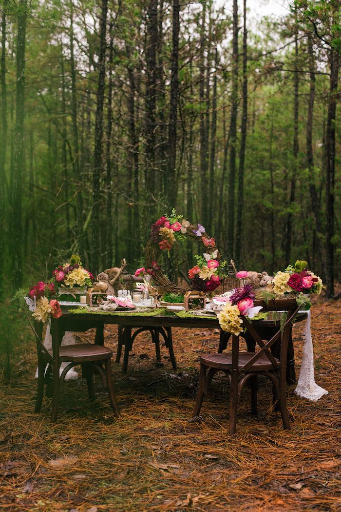 Dreamy Enchanted Woodland Party on Kara's Party Ideas | KarasPartyIdeas.com (13)