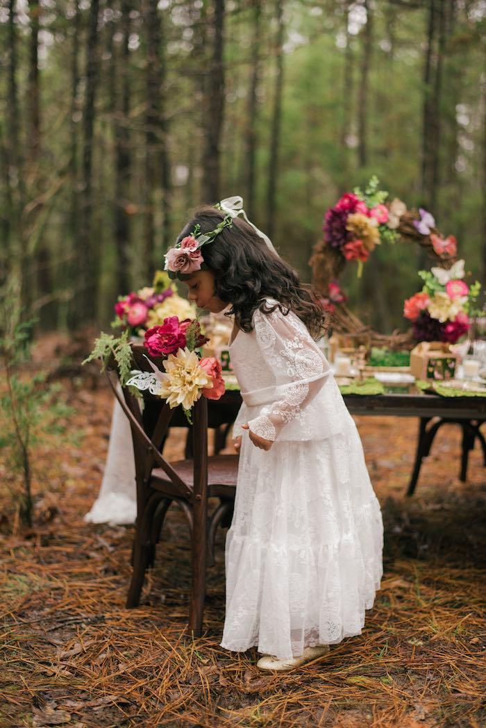 Dreamy Enchanted Woodland Party on Kara's Party Ideas | KarasPartyIdeas.com (10)