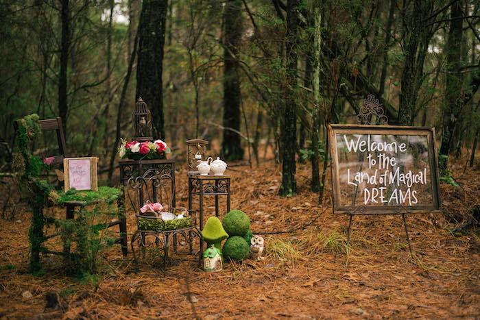 Dreamy Enchanted Woodland Party on Kara's Party Ideas | KarasPartyIdeas.com (5)