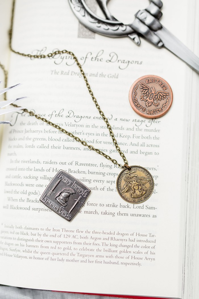 Authentic Fantasy Coins from a Game of Thrones Wrap Party on Kara's Party Ideas | KarasPartyIdeas.com (28)