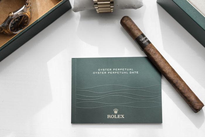 Cigar from a Glamorous Luxury Lebanese Wedding on Kara's Party Ideas | KarasPartyIdeas.com (21)