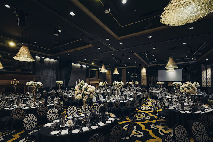 Guest Tables from a Glamorous Luxury Lebanese Wedding on Kara's Party Ideas | KarasPartyIdeas.com (11)
