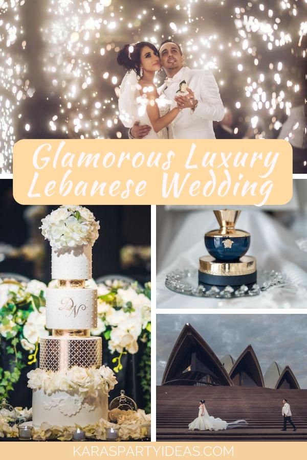 Glamorous Luxury Lebanese Wedding via Kara's Party Ideas - KarasPartyIdeas.com