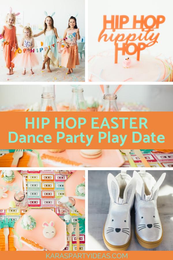 HIP HOP EASTER Dance Party Playdate via Kara's Party Ideas - KarasPartyIdeas.com (1)
