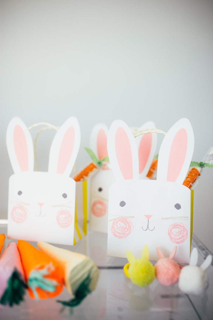 Bunny Boxes from a Hip Hop Easter Dance Party Play Date on Kara's Party Ideas | KarasPartyIdeas.com (31)