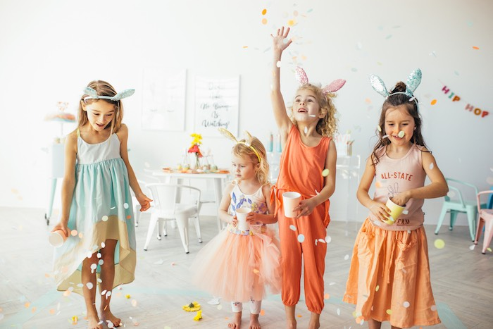 Confetti from a Hip Hop Easter Dance Party Play Date on Kara's Party Ideas | KarasPartyIdeas.com (19)