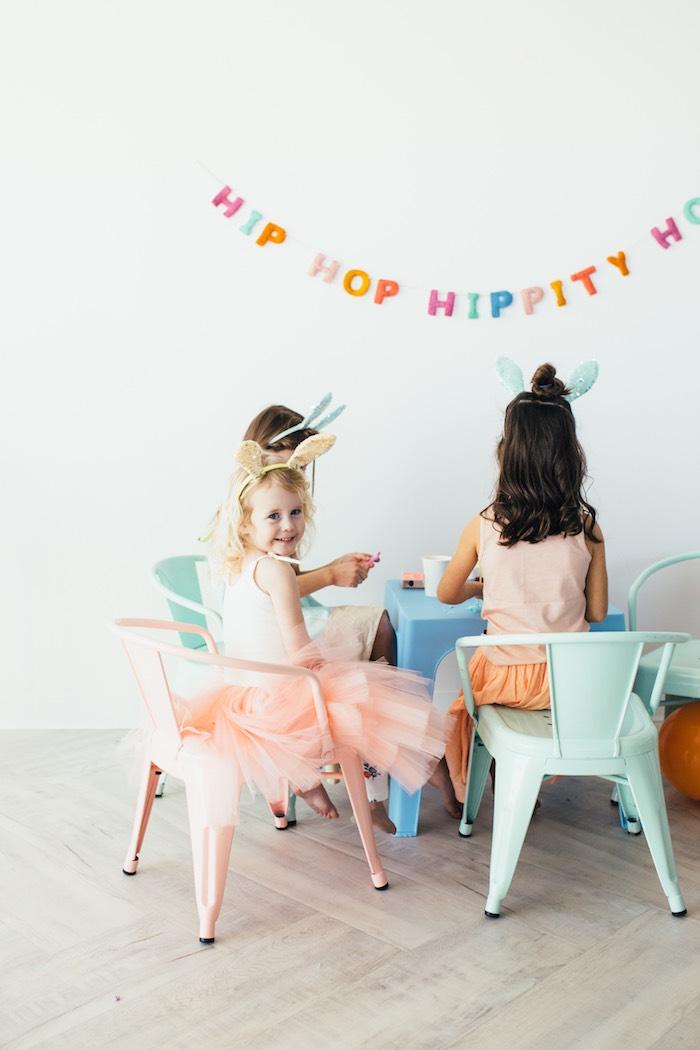 Hip Hop Easter Dance Party Play Date on Kara's Party Ideas | KarasPartyIdeas.com (16)