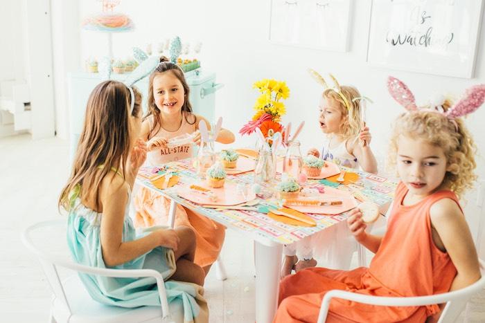 Hip Hop Easter Dance Party Play Date on Kara's Party Ideas | KarasPartyIdeas.com (12)