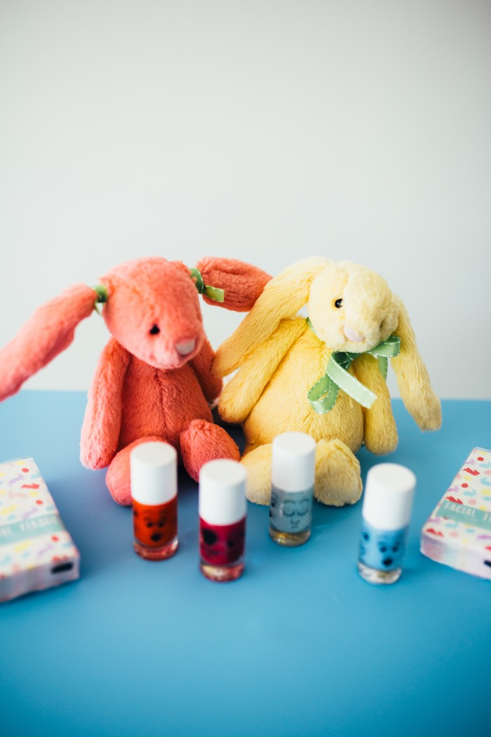Plush Bunnies from a Hip Hop Easter Dance Party Play Date on Kara's Party Ideas | KarasPartyIdeas.com (40)
