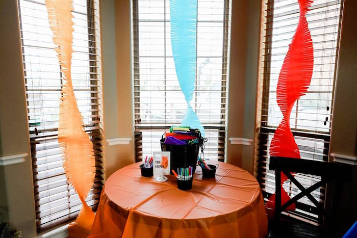 Party Table from a Holi Inspired Color War Birthday Party on Kara's Party Ideas | KarasPartyIdeas.com (20)
