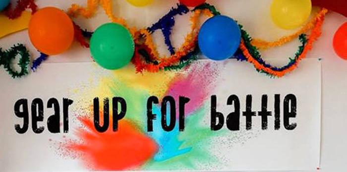Holi Inspired Color War Birthday Party on Kara's Party Ideas | KarasPartyIdeas.com (4)