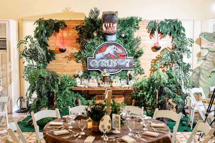Jurassic World Birthday Party on Kara's Party Ideas | KarasPartyIdeas.com (36)