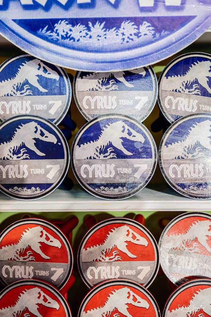 Jurassic World Party Favors from a Jurassic World Birthday Party on Kara's Party Ideas | KarasPartyIdeas.com (16)