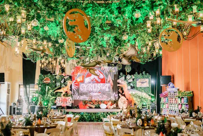 Jurassic World Birthday Party on Kara's Party Ideas | KarasPartyIdeas.com (34)