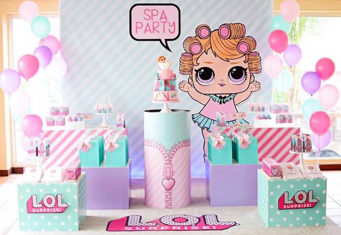 L.O.L. Surprise Spa Party on Kara's Party Ideas | KarasPartyIdeas.com (18)