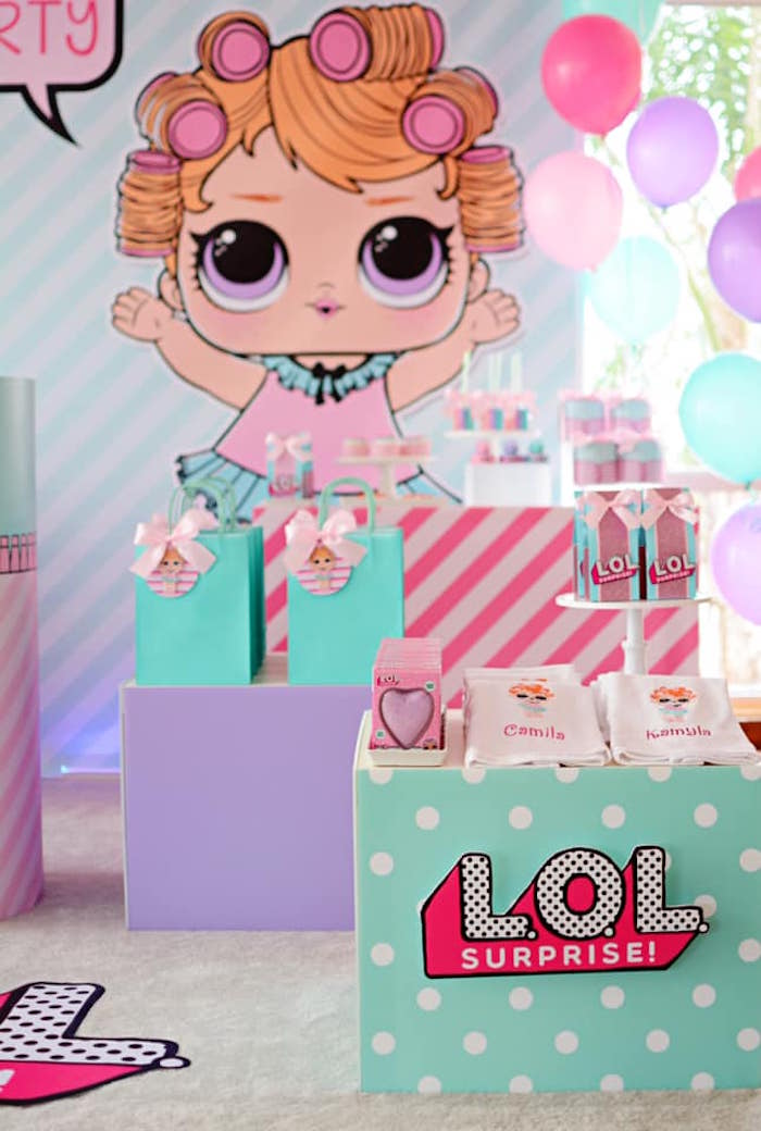 L.O.L. Surprise Spa Party on Kara's Party Ideas | KarasPartyIdeas.com (11)