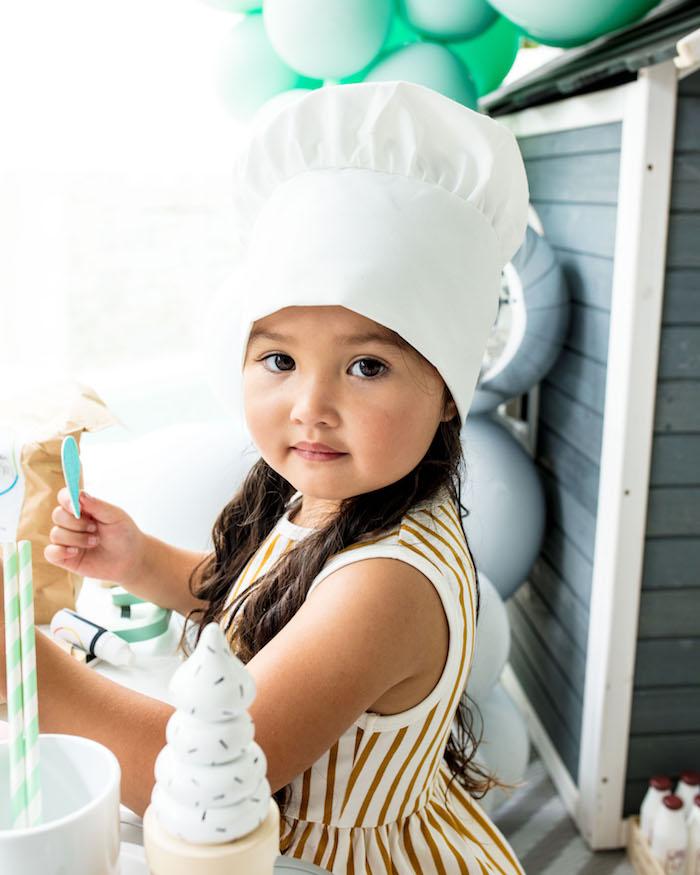 Little Chef from a Little Chef Milk Bar Party on Kara's Party Ideas | KarasPartyIdeas.com (14)
